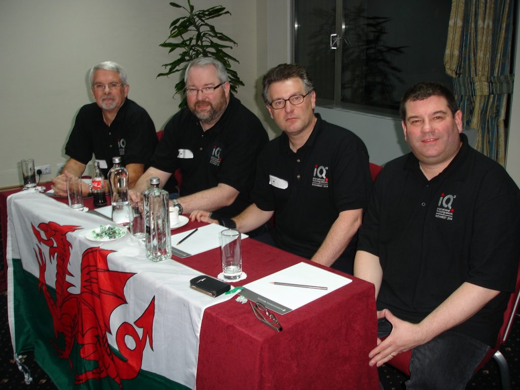 The 2014 Wales national quiz team