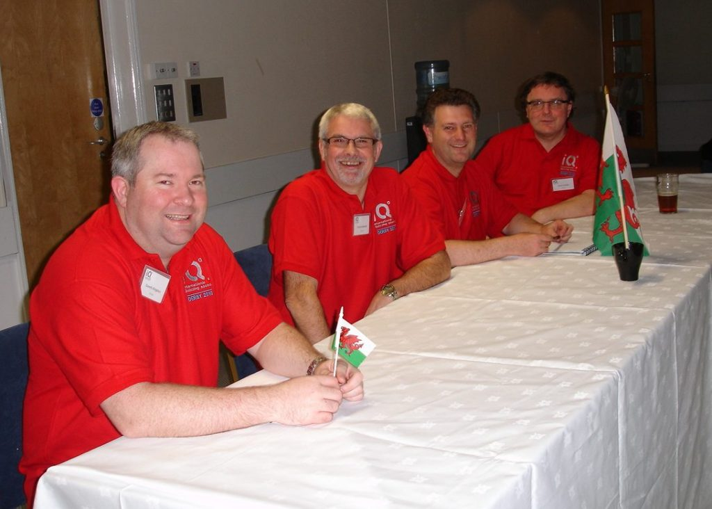 The 2010 Wales national quiz team